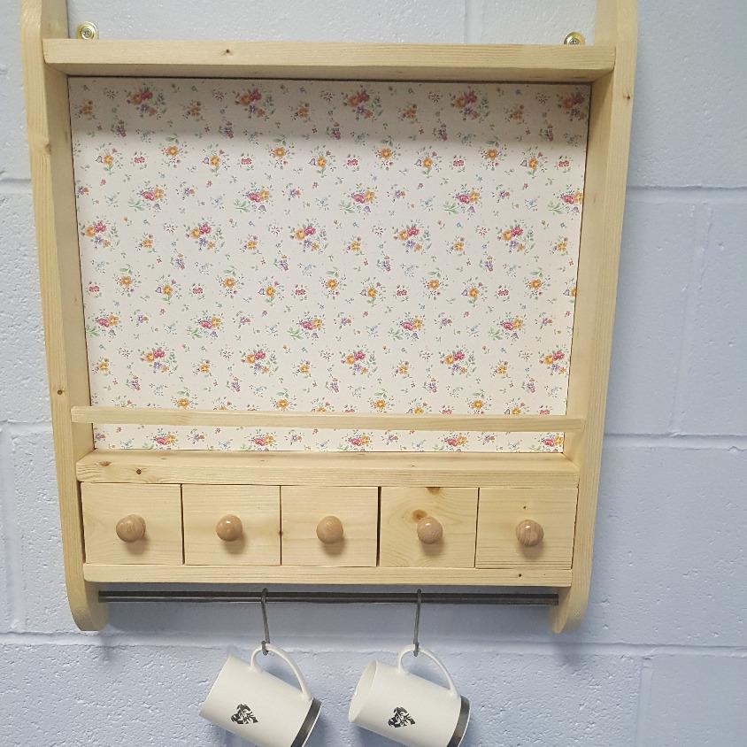 Handmade Kitchen Shelf Shropshire
