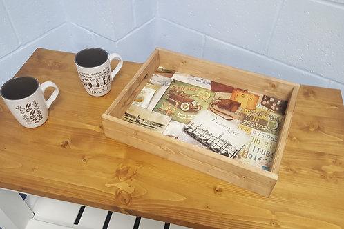 Handmade Tea Tray