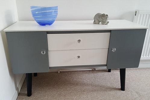 Upcycled retro cabinet