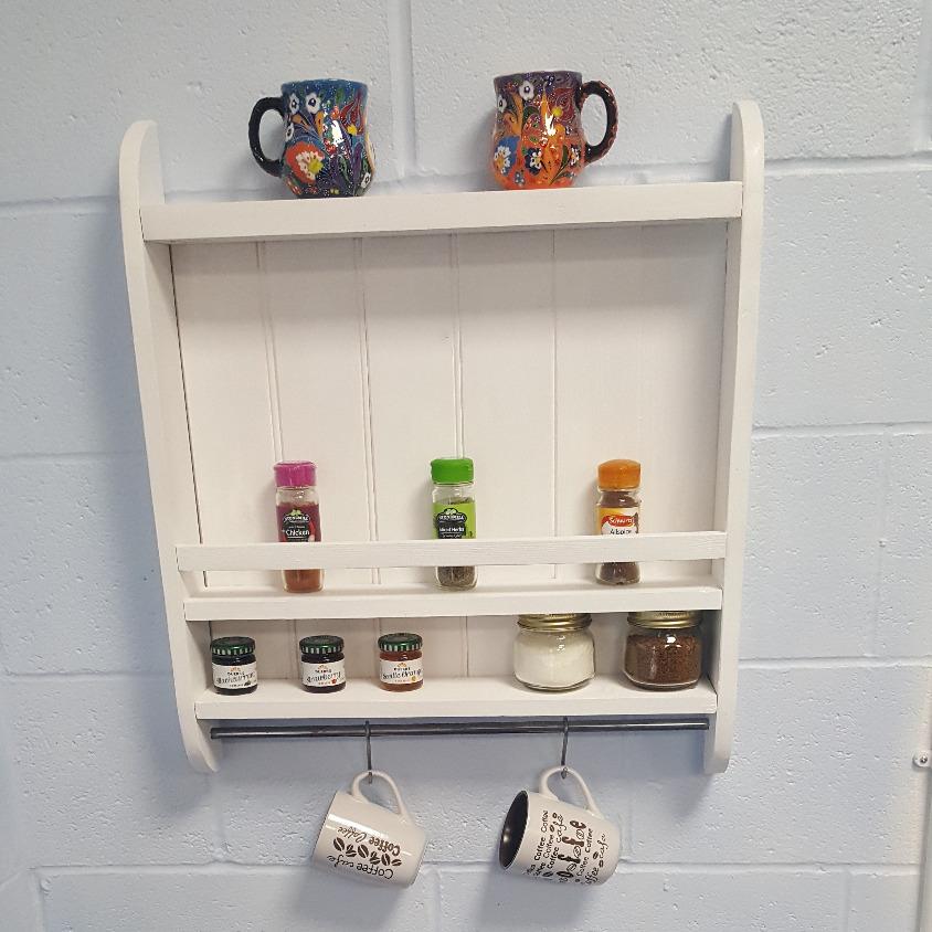 handmade shropshire kitchen shelf
