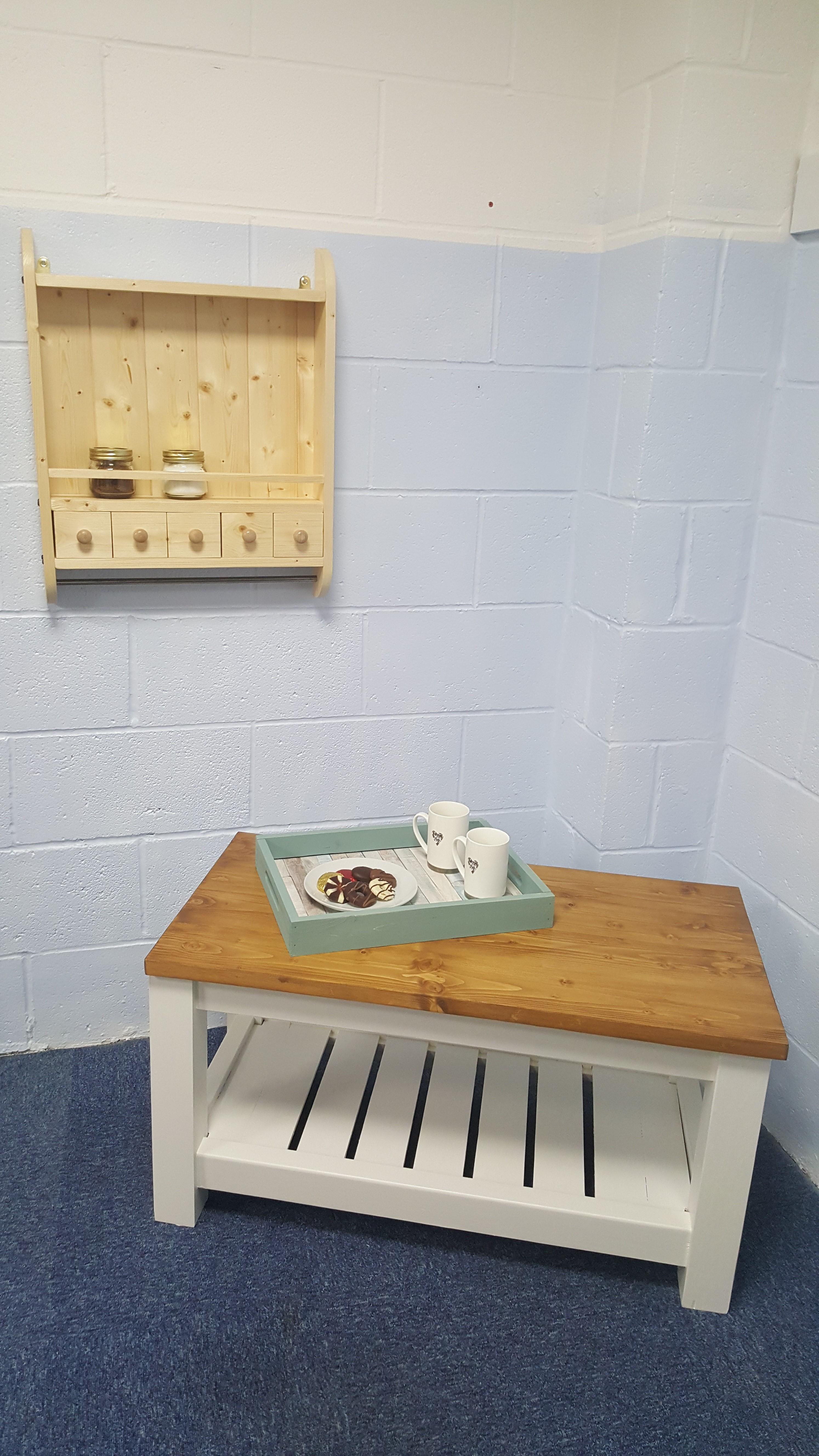 handmade furniture tray shelf