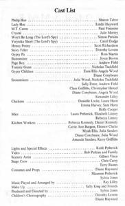 1991 Hoe's Your Father - Programme Cast