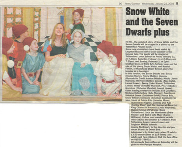 2003 Snow White - News Cutting.jpg