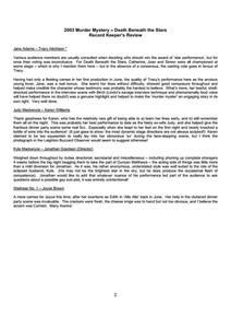 2003 Murder Mystery - Death Beneath the Stars, Review p2.jpg