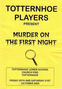 2000 Murder on the First Night - Program