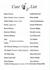1996 Hickory Dickory Dock - Programme Ca