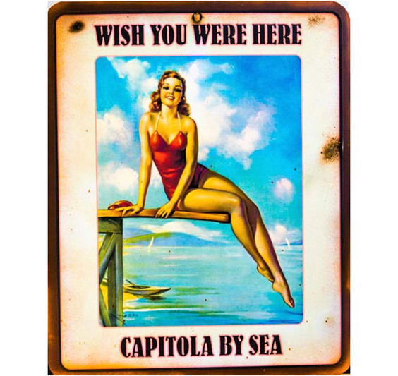 Capitola Village Vintage Sign