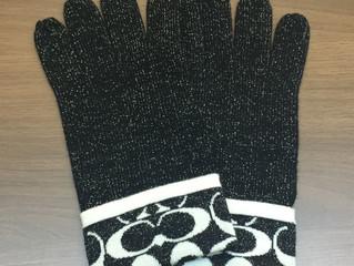 コーチの手袋を買取させて頂きました。