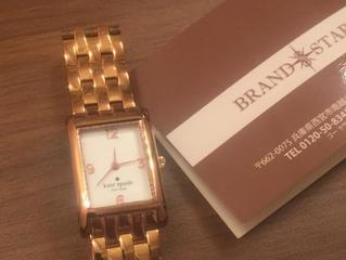 ケイトスペードの時計をお売り頂きました!