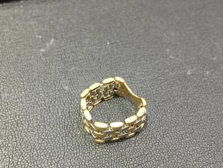 コンビのリングを買取させて頂きました。