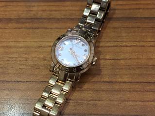 マークジェイコブスの時計を買取させて頂きました。