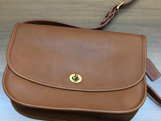コーチのバッグを買取させて頂きました。