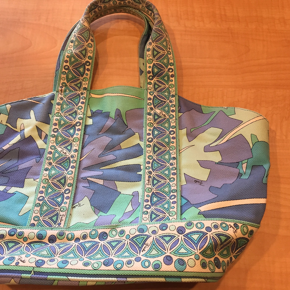 ブランドスターズ豊中泉丘店で買取したエミリオプッチのバッグの写真