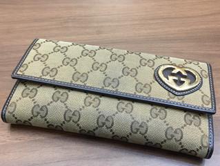 グッチの財布を買取させて頂きました。