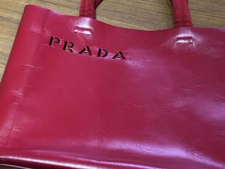 プラダのバッグを買取させて頂きました。