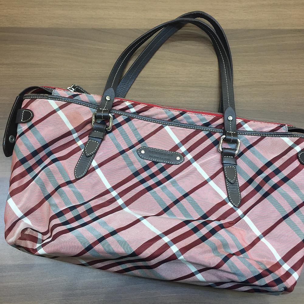 ブランドスターズで買取したバーバリーのバッグの写真