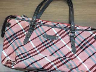 バーバリーのバッグを買取させて頂きました。