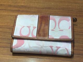 コーチの財布を買取させて頂きました。