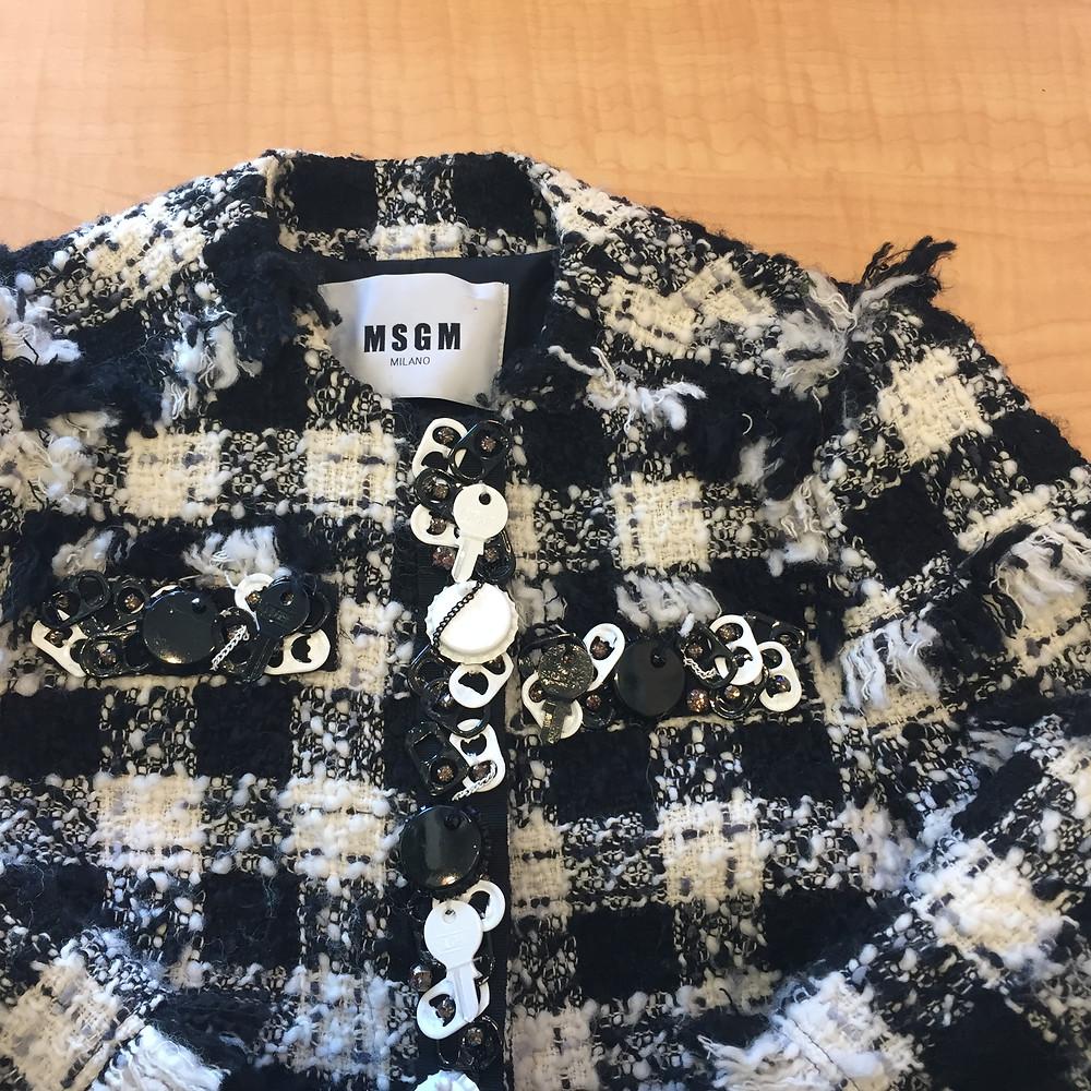 ブランドスターズ豊中店で買取したエムエスジーエムのジャケットの写真