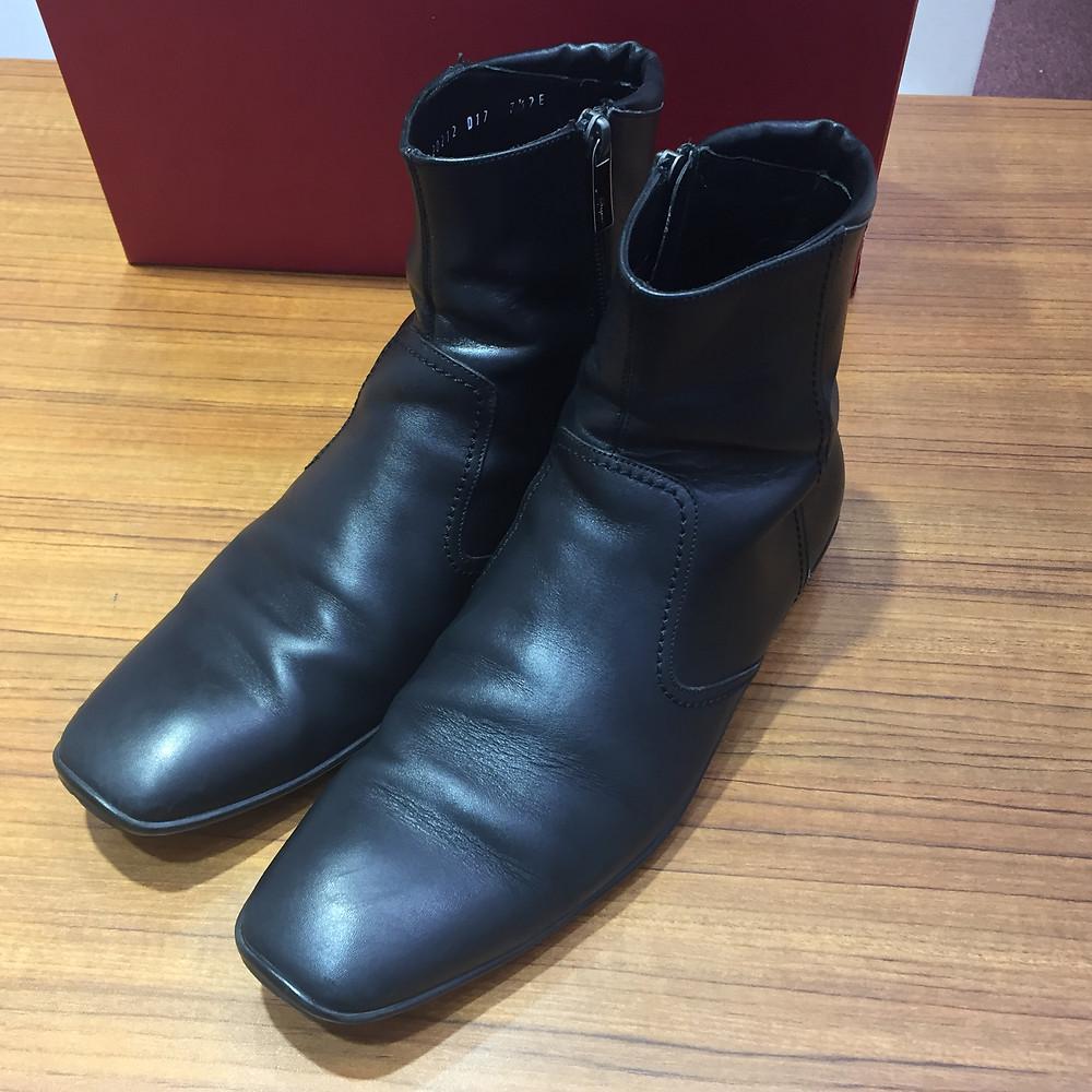 ブランドスターズサンシティ池田店で買取したフェラガモのブーツの写真