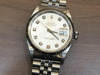 ロレックスの時計を買取させて頂きました。