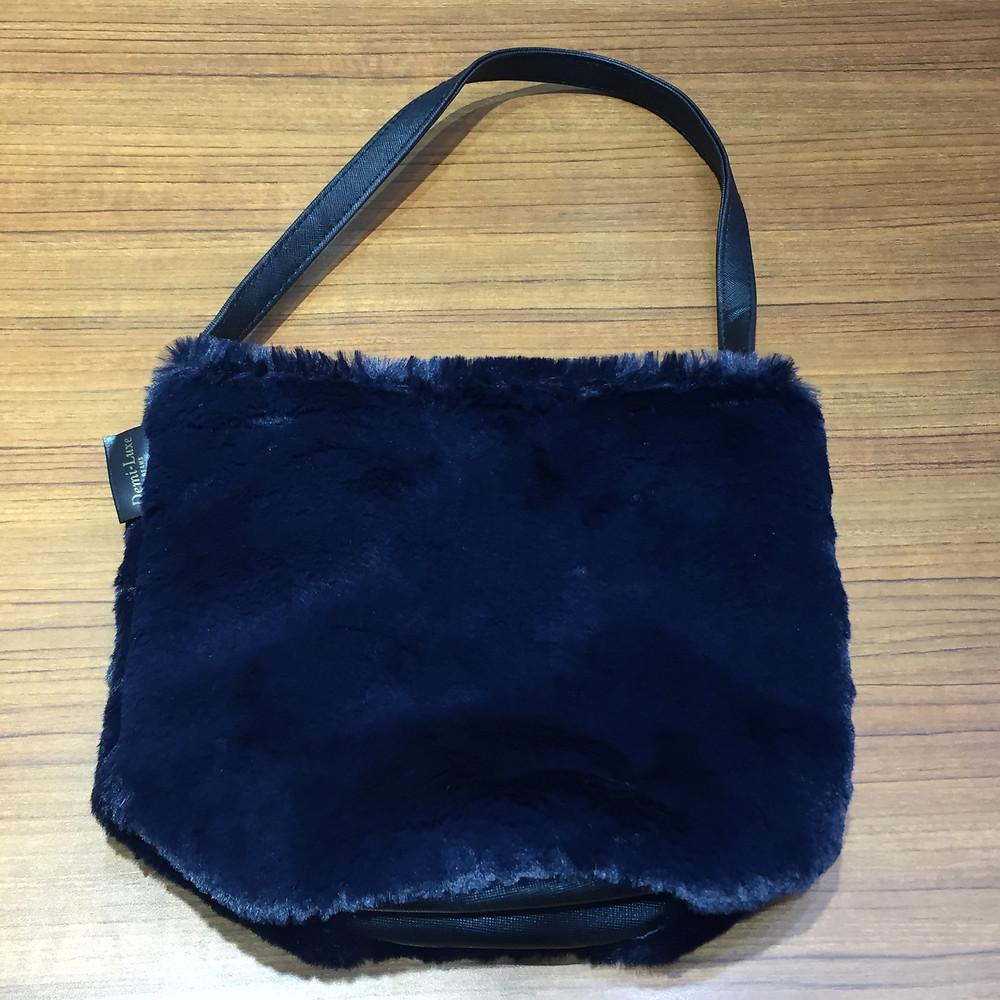 ブランドスターズ池田店で買取したビームスのファーバッグの写真