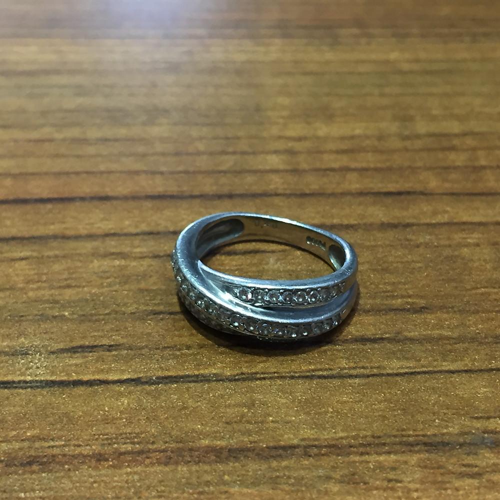 ブランドスターズサンシティ池田店で買取したダイヤモンドのリングの写真