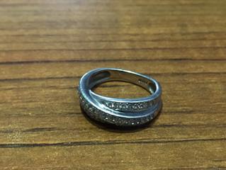 プラチナのリングを買取させて頂きました。