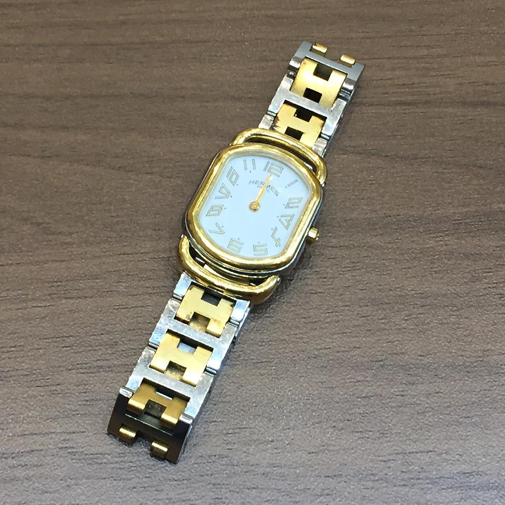 ブランドスターズで買取したエルメスの時計の写真