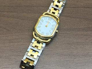 エルメスの時計を買取させて頂きました。