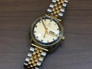 オメガの時計を買取させて頂きました。