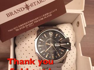 ディーゼルの時計をお買い上げ頂きました!