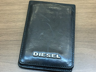 ディーゼルのパスケースを買取させて頂きました。