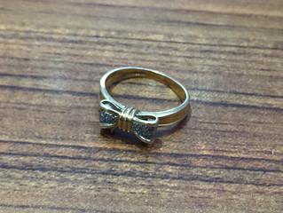 18金のリングを買取させて頂きました。