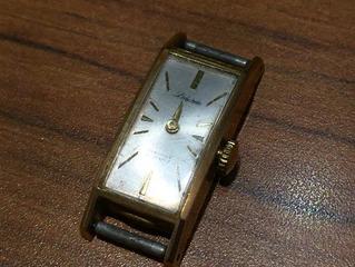 18金の時計を買取させて頂きました。