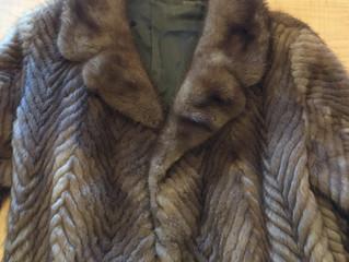 ミンクのコートを買取させて頂きました。
