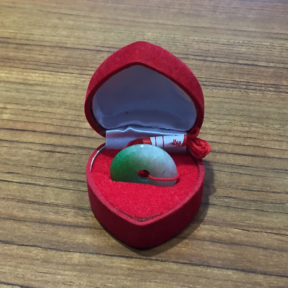 ブランドスターズサンシティ池田店で買取した翡翠の玉器の写真