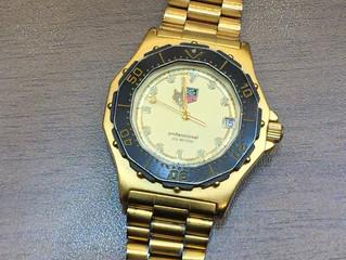 タグホイヤーの時計を買取させて頂きました。