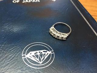 ダイヤモンドのリングを買取させて頂きました。