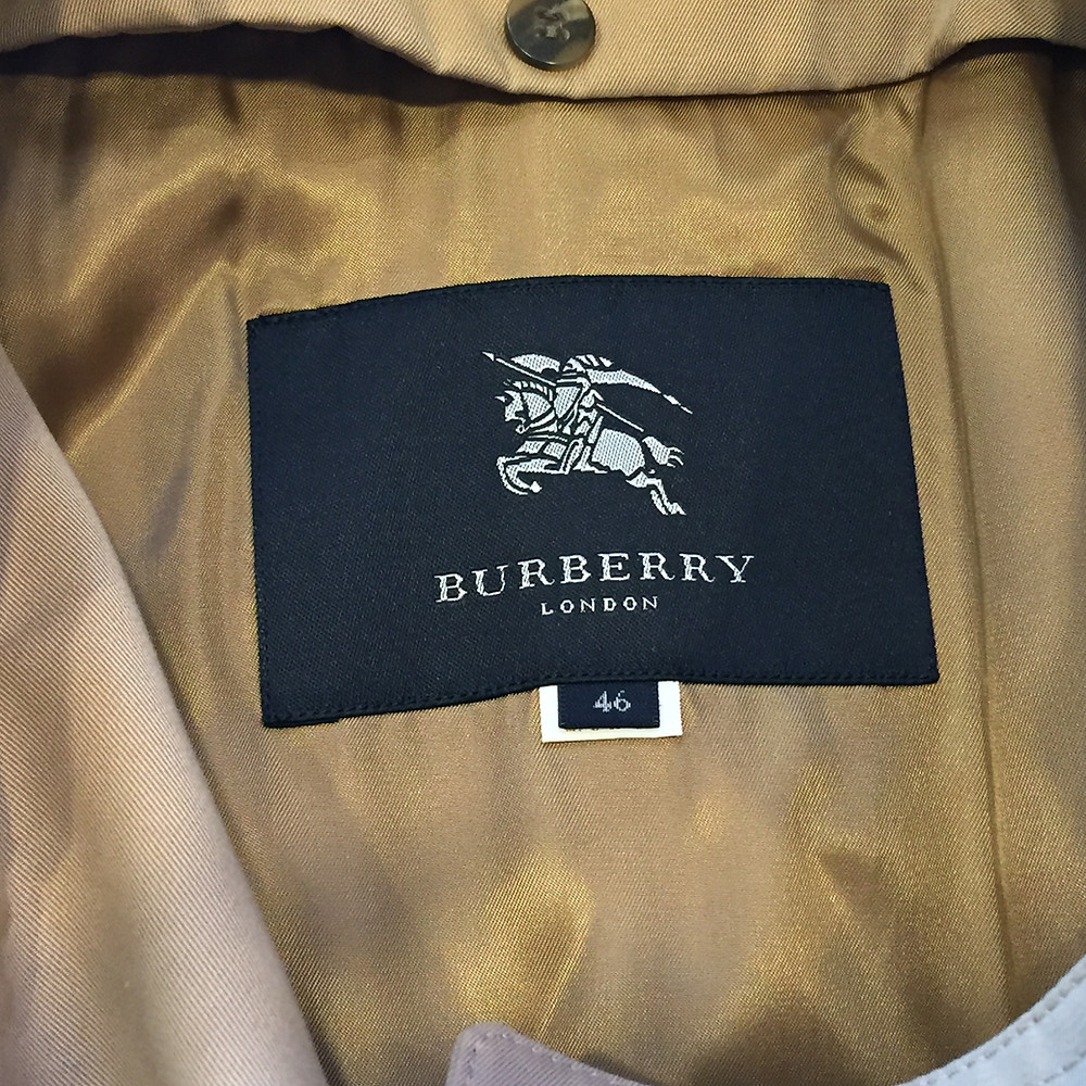 ブランドスターズ豊中東泉丘店で買取したバーバリーのブランドタグの写真