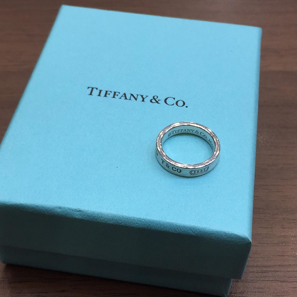 ブランドスターズで買取したティファニーのリングの写真