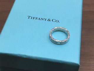 ティファニーのリングを買取させて頂きました。