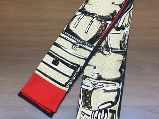 ヴィトンのスカーフを買取させて頂きました。