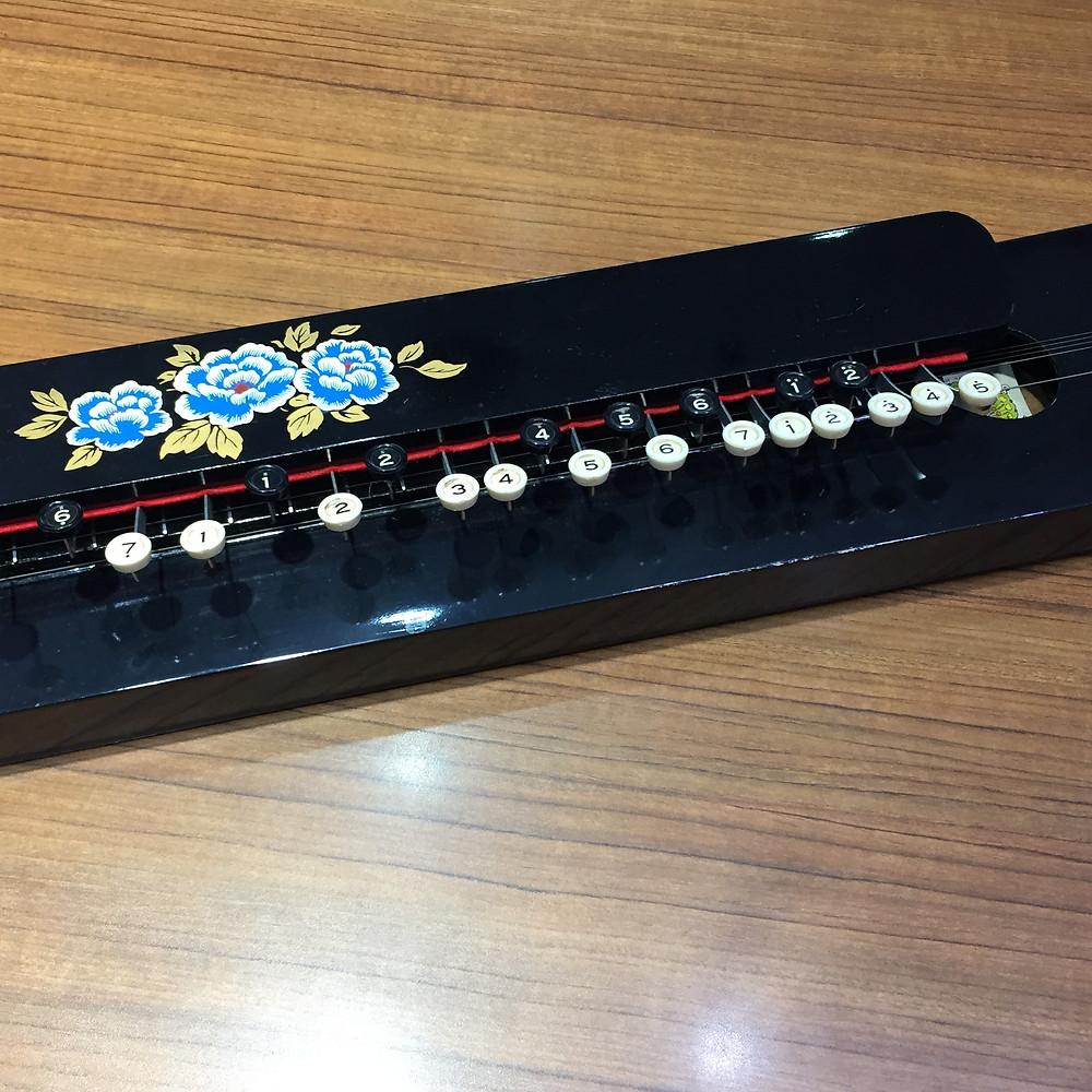 ブランドスターズサンシティ池田店で買取した大正琴の楽器の写真