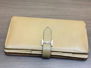 エルメスの財布を買取させて頂きました。