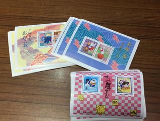 切手を買取させて頂きました。