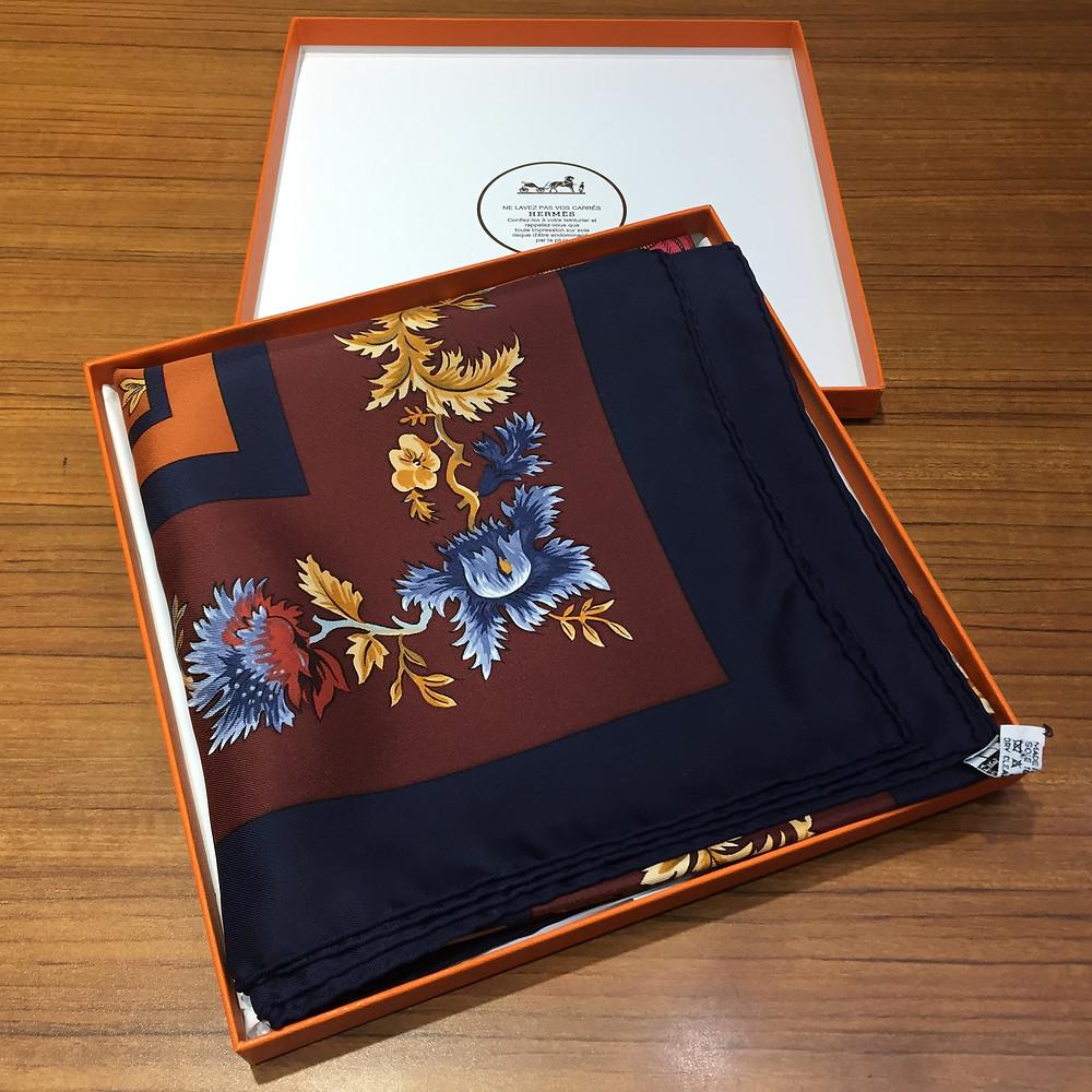 ブランドスターズサンシティ池田店で買取したエルメスのスカーフの写真