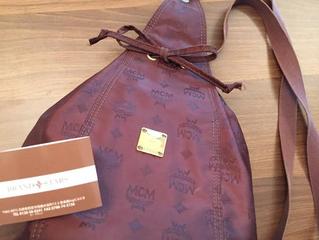 MCMのバッグを買取させて頂きました!