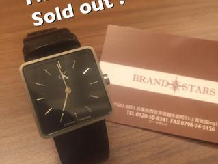 カルバンクラインの時計をお買い上げ頂きました!