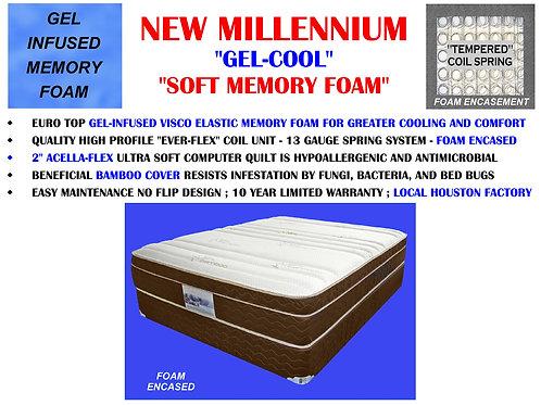New Millennium Gel Cooling Memory Foam